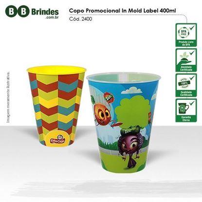 Imagem de Copo Promocional in Mold Label 400ml